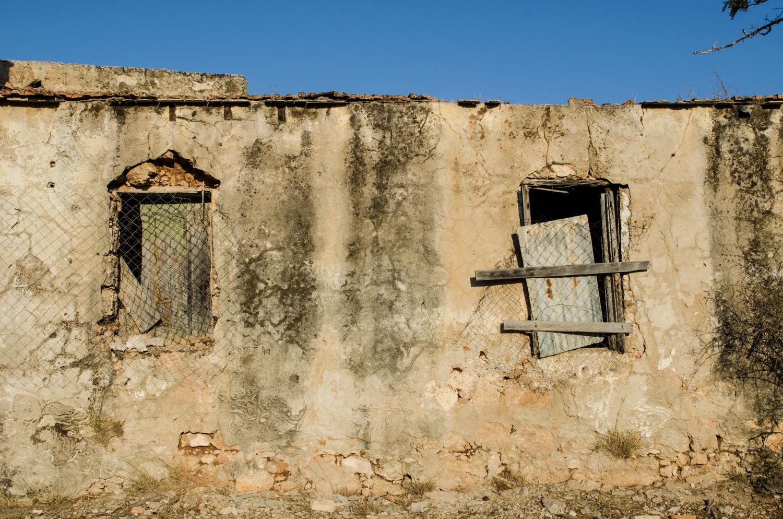 Граница закрытого греческого района Вароша- части города Фамагуста.
