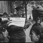 Берлин, 8 мая 1945г.Оповещение берлинцев о капитуляции Германии.