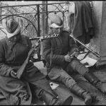 """Берлин, май 1945г.""""Рана - раной, а дело - делом""""."""